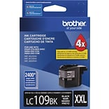 Brother LC109 Black Ink Cartridge (LC109PKS); Super High Yield