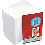 Idville 30 mil white plastic card with magnetic strip