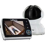Levana® Keera™ 3.5 inch PTZ Digital Baby Monitor with Talk to Baby Intercom and Video/Photo to SD Re
