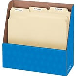 Bankers Box® Folder Holder, 11.25H x 5W x 12.13D, Blue