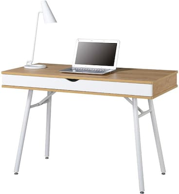 Techni Mobili Modern Computer Desk with Storage,