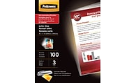 Fellowes® Letter-Size Thermal Laminating Pouches
