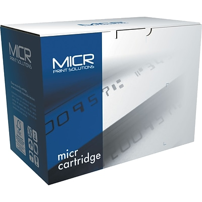 MICR Black Toner Cartridge Compatible with HP 80X (CF280X), High Yield