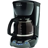 Mr. Coffee Simple Brew 12-Cup Programmable Coffeemaker, Black