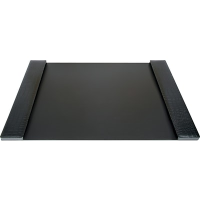 DuraPad Executive Desk Pad, Medium, Black, 19 x 30