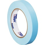 Tape Logic™ 3/4 x 60 Yards Light Masking Tape, Blue, 12 Rolls (T93400312PKH)