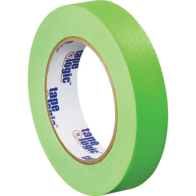 Tape Logic™ 1 x 60 yds. Masking Tape, Light Green, 12 Rolls