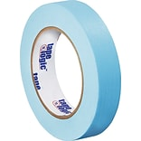 Tape Logic™ 1 x 60 Yards Light Masking Tape, Blue, 12 Rolls (T93500312PKH)