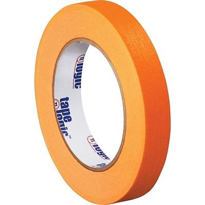 Tape Logic™ 3/4 x 60 yds. Masking Tape, Orange,  12 Rolls