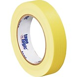 Tape Logic™ 1 x 60 Yards Masking Tape, Yellow, 12 Rolls (T93500312PKY)
