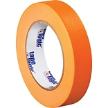 Tape Logic™ 1 x 60 Yards Masking Tape, Orange, 12 Rolls (T93500312PKD)