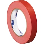 Tape Logic™ 3/4 x 60 yds. Masking Tape, Red, 12 Rolls