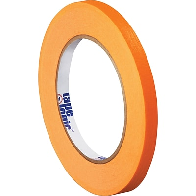 Tape Logic™ 1/4 x 60 yds. Masking Tape, Orange,  12 Rolls