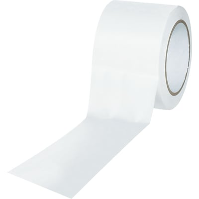 Tape Logic™ 3 x 36 yds. Solid Vinyl Safety Tape, White, 3/Pack