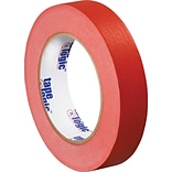 Tape Logic™ 1 x 60 yds. Masking Tape, Red, 12 Rolls