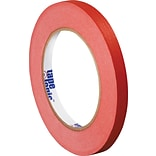 Tape Logic™ 1/4 x 60 yds. Masking Tape, Red, 12 Rolls