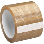 Tape Logic™ 3(W) x 110 yds(L) x 1.7 mil Natural Rubber Carton Sealing Tape, Clear, 24/Case