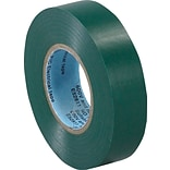 Tape Logic™ 3/4(W) x 20 yds(L) Vinyl Electrical Tape, Green,  10/Pack