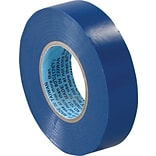 Tape Logic™ 3/4(W) x 20 yds(L) Vinyl Electrical Tape, Blue,  10/Pack