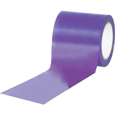 Tape Logic™ 4 x 36 yds. Solid Vinyl Safety Tape, Purple, 12/Case