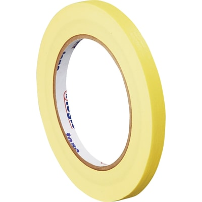 Tape Logic™ 1/4 x 60 yds. Masking Tape, Yellow, 144/Case