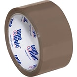 2 x 55 yds. Tan Tape Logic™ #600 Hot Melt Tape, 36/Case
