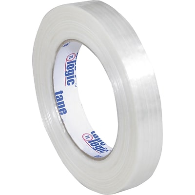 3/4 x 60 yds. (12 Pack) Tape Logic™ #1500 Filament Tape, 12/Case
