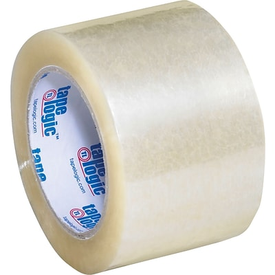 3 x 110 yds. Clear Tape Logic™ 2 Mil Acrylic Tape, 24/Case