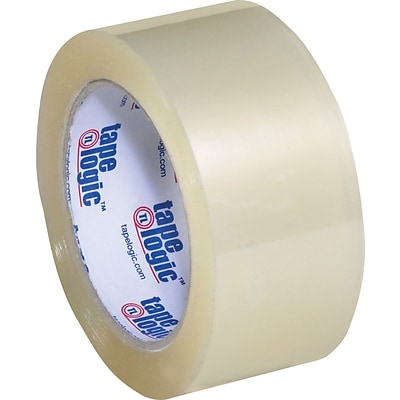2 x 110 yds. Clear Tape Logic™ 1.8 Mil Acrylic Tape, 36/Case