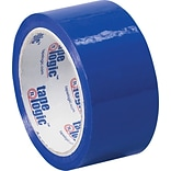 2 x 55 yds. Blue Tape Logic™ Carton Sealing Tape; 36/Case
