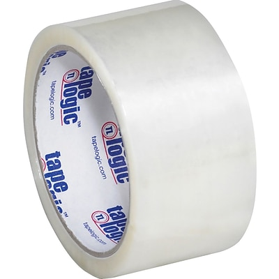 Tape Logic® #800 Hot Melt Tape, 2 x 55 yds, Clear, 36/Case
