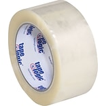 Tape Logic® #700 Hot Melt Tape, 2 x 110 yds., 1.9 mil, Clear, 36/Case