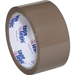Tape Logic® #700 Hot Melt Tape, 2 x 55 yds., Tan, 36/Case