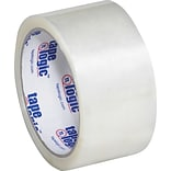 2 x 55 yds. Clear Tape Logic™ #600 Hot Melt Tape, 36/Case