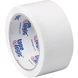 2 x 55 yds. White Tape Logic™ Carton Sealing Tape; 36/Case
