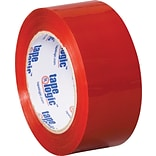 2 x 110 yds. Red Tape Logic™ Carton Sealing Tape; 36/Case