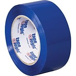 2 x 110 yds. Blue Tape Logic™ Carton Sealing Tape; 36/Case
