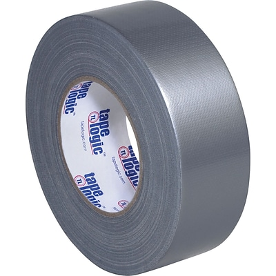 Tape Logic™ Industrial Cloth Duct Tape, Silver; 2 x 60 Yards, 3 Rolls