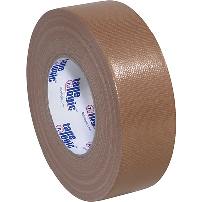 Tape Logic™ Economy Cloth Duct Tape; Brown; 2 x 60 Yards, 24 Rolls
