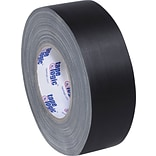 Tape Logic Industrial Gaffers Tape, Black, 2 x 60 yds, 24/Case