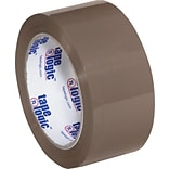Tape Logic™ #600 Hot Melt Tape; Tan, 2 x 110 yds., 36 Rolls