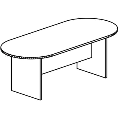 Lorell Prominence 79000 Series Conference Table, Espresso