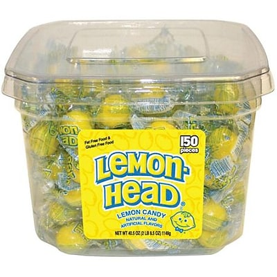 Lemonhead Tub: 150 Pieces