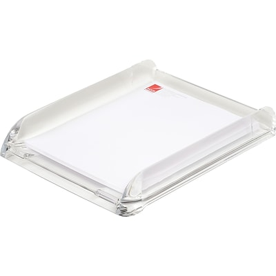 Swingline Acrylic Document Tray, Clear, 13 1/4H x 10 3/4W x 2 1/2D