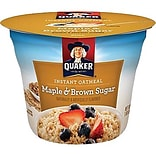 Quaker® Maple Brown Sugar Oatmeal Express