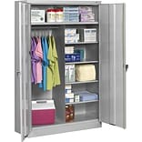 Tennsco® Gray Combo Steel Storage Cabinet
