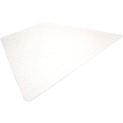 Floortex Ultimat, Polycarbonate Corner Workstation Chairmat 48 X 60 for Hard Floors (1215019TR)