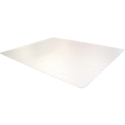 Floortex Phthalate Free 48x36 PVC Chair Mat for Carpet, Rectangular (PF119225EV)