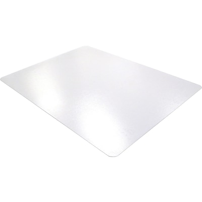 Floortex Polycarbonate 53x48 Polycarbonate Chair Mat for Hard Floor, Rectangular (1213419ER)