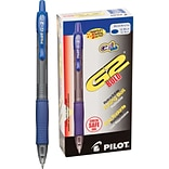 Pilot G2 Premium Retractable Gel-Ink Rolling Ball Pens, Bold Point (1.0mm), Blue, Dozen (31257)